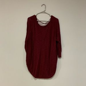 Maroon Express Sweater